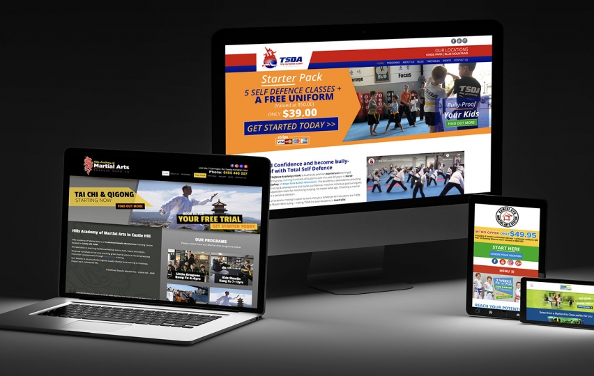 martialarts-web-design-screens